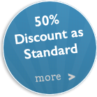 30% Discount Online as Standard