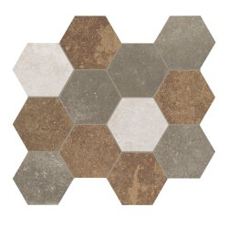 Afflitto - Hexagon Mosaic